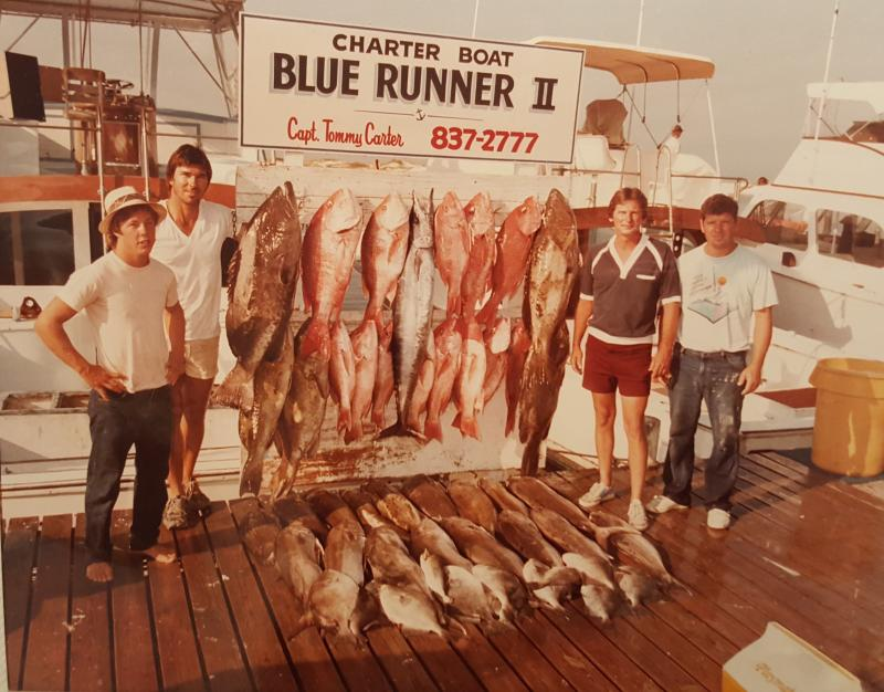 Click to enlarge image  - Snapper and Tarpon back in 'the day' -